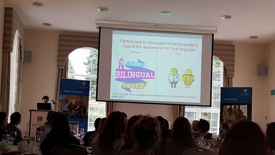 Bilingualism and proud.Prof Ofelia Garcia.